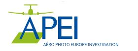 APEI : photos aériennes à la verticale